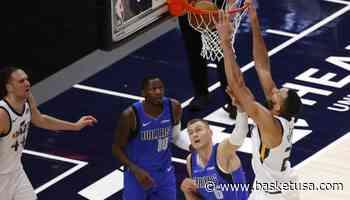 Monstrueux, Rudy Gobert (29 points, 20 rebonds, 3 contres) place Utah au sommet de la NBA - BasketUSA