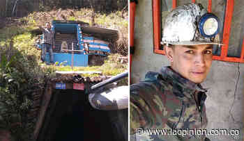 Incertidumbre por minero atrapado tras derrumbe, en Cácota | La Opinión - La Opinión Cúcuta
