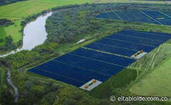 Moderna granja solar en Yotoco - Imagen del periodismo regional - El Tabloide