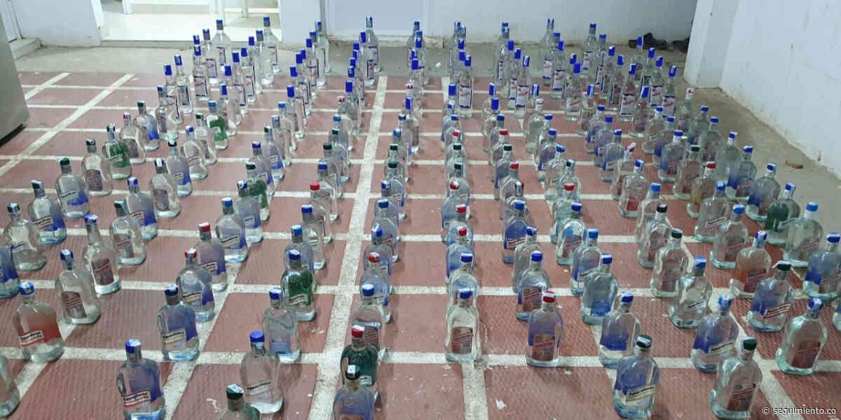 Incautan licor adulterado en Sitionuevo; era transportado en un vehículo de tracción animal - Seguimiento.co