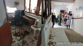 Familiares de fallecido atacaron el hospital de Piojó - EL HERALDO