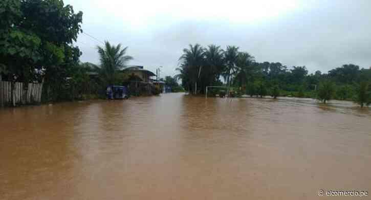 Pasco: lluvias provocan desborde de dos ríos en Oxapampa e inundan más de 100 casas - El Comercio Perú