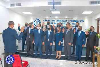 Juramentan a Víctor Ramón Montás como presidente Cámara de Comercio de San Cristóbal - Hoy Digital (República Dominicana)