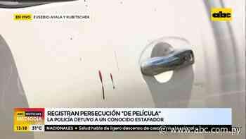 "Reportan ""persecución de película"" sobre la avenida Eusebio Ayala - ABC Noticias - ABC Color"