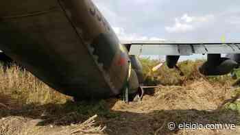 Avión militar se estrelló contra unos árboles en Palo Negro elsiglocomve - Diario El Siglo