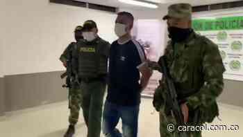 En Chinú, Córdoba, Ejército capturó a presunto sicario del Clan del Golfo - Caracol Radio