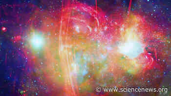 The Milky Way's central black hole may have turned nearby red giant stars blue - Science News