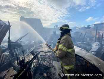 Seis viviendas consumidas por incendio en Puerto Bolívar - El Universo