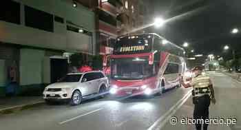 Lambayeque: PNP intervino bus con 72 pasajeros extranjeros en Mórrope | VIDEO - El Comercio Perú