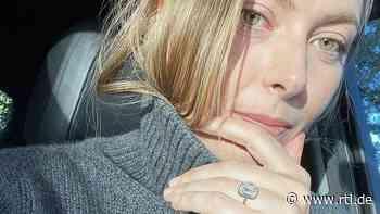 Maria Sharapova zeigt Mega-Verlobungsklunker bei Instagram - RTL Online
