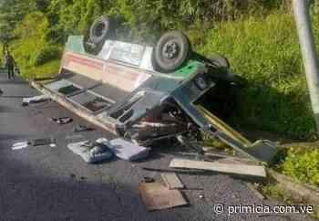 Accidente de tránsito en Caripito deja 25 personas heridas - primicia.com.ve