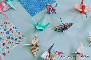 Je crée des oiseaux en origami lundi 19 avril 2021 - Unidivers