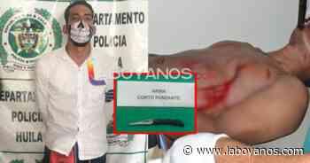 HuilaisnosJudicial Hirió a su primo con un arma blanca en Isnos - Laboyanos.com