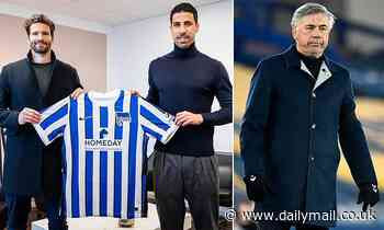 Sami Khedira snubs chance to reunite with Carlo Ancelotti at Everton as he signs for Hertha Berlin