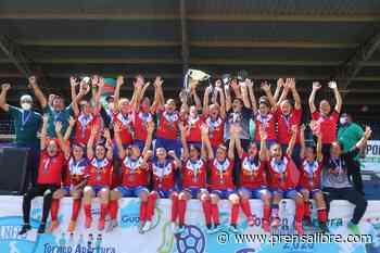 Deportivo Xela se queda con el campeonato tras derrotar a Unifut-Rosal en la final de la Liga Femenina - Prensa Libre