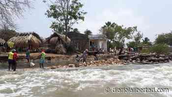 Familias de Bahía Rada en Moñitos amenazadas por erosión costera - Diario La Libertad