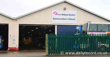 Bannockburn First Bus depot to stay open after coronavirus outbreak hits services - Scottish Daily Record