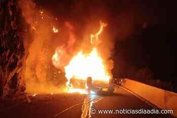 Investigan causas de accidente vía Bogotá – Choachí, Cundinamarca - Noticias Día a Día