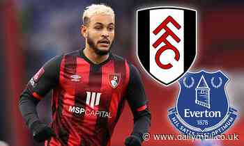 Everton and Fulham 'verbally agree deals for Bournemouth's Josh King'