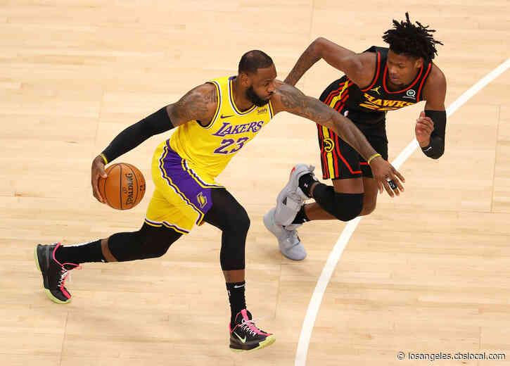 Road Warriors: James, Davis Lead Lakers Past Hawks 107-99
