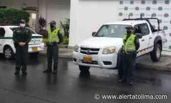 Policía recuperó en Natagaima camioneta robada cerca a tierras del Huila - Alerta Tolima