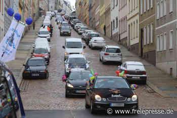 Straßenfasching: In Meerane wird in diesem Jahr aus dem Auto heraus gefeiert - Freie Presse