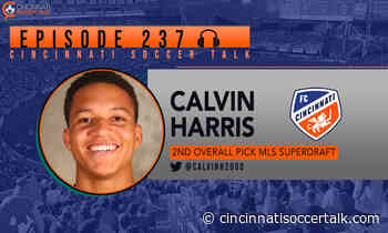 FC Cincinnati's Calvin Harris Visits CST - Cincinnati Soccer Talk