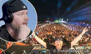 DJ Eric Prydz has Twitter row with disease specialist - Daily Mail