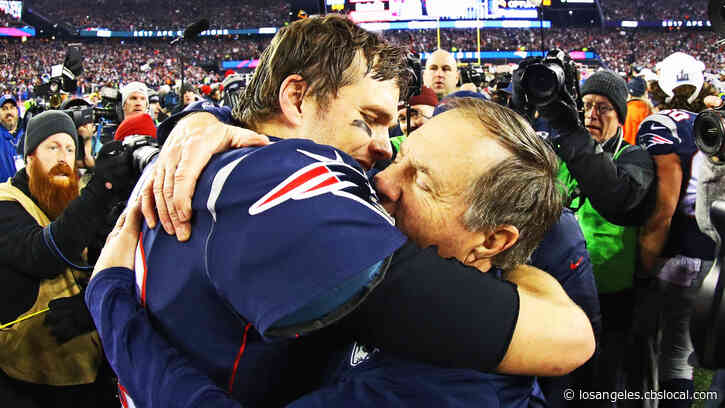 Tom Brady Praises Bill Belichick: 'Could Never Have Accomplished The Things In My Career Without His Support'