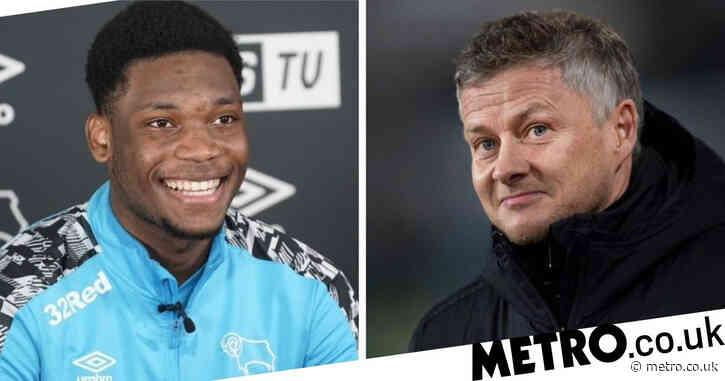 Ole Gunnar Solskjaer urges Manchester United wonderkid Teden Mengi to impress Wayne Rooney at Derby County