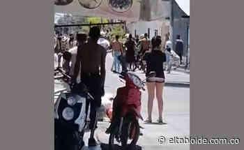 Uniformados fueron agredidos en el barrio limonar de guacarí - Imagen del periodismo regional - El Tabloide