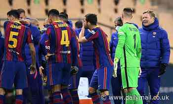 Ronald Koeman unearthed a dressing room mole who was leaking Barcelona line-ups at start of reign