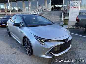 Vendo Toyota Corolla 2.0 Hybrid Lounge nuova a Cirie', Torino (codice 8452932) - Automoto.it