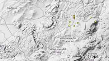 Pequeños terremotos entre Archidona y Villanueva del Trabuco - cartaojal.com