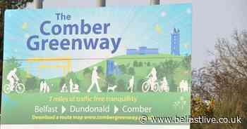 Calls for 'hazardous' Comber Greenway to be gritted - Belfast Live