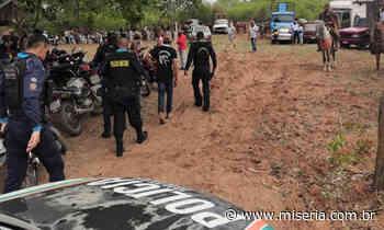 """PM de Mauriti interrompe """"pega de boi"""" e dispersa aglomeração cumprindo decreto de combate à Covid - Site Miséria"""