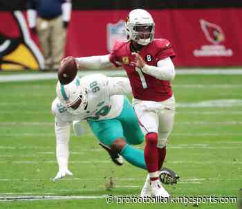 Kyler Murray: Shoulder injury happened against the Dolphins