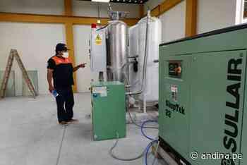 Empieza funcionamiento de planta de oxígeno del Hospital Referencial de Ferreñafe - Agencia Andina