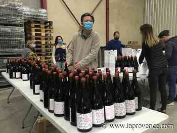 Lambesc : Rouge Provence habille sa cuvée solidaire - La Provence