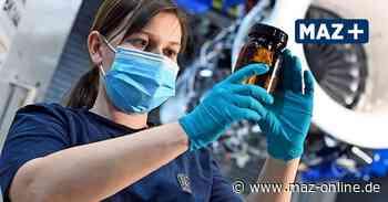Rolls-Royce Dahlewitz testet 100 Prozent nachhaltigen Flugkraftstoff - Märkische Allgemeine Zeitung