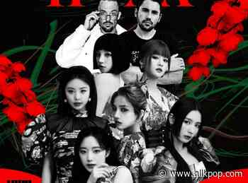 (G)I-DLE x Belgian DJ duo Dimitri Vegas & Like Mike reveal cover art for 'HWAA' remix - allkpop