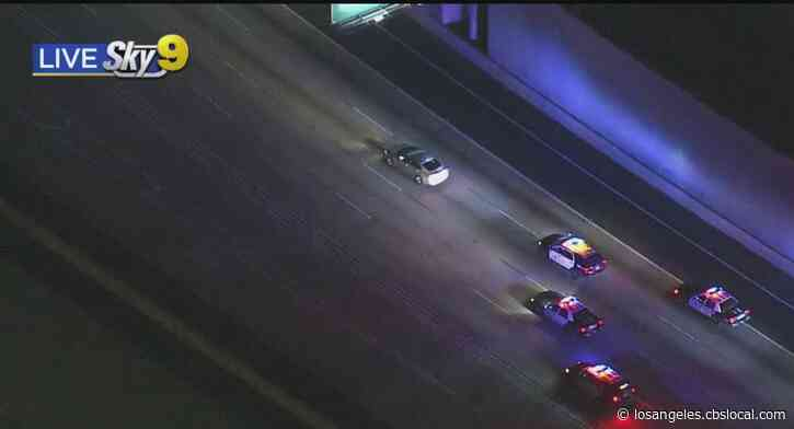 Pursuit Suspect Leads LAPD Officers On Hours-Long Chase Across City