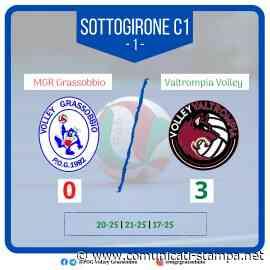 Volley SerieB: l'MGR Grassobbio stecca nella prima con Valtrompia - Comunicati-Stampa.net