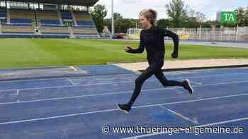 Annabell Recke vom LC Jena freut sich auf ersten Wettkampf in der Halle - Thüringer Allgemeine