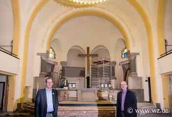 Die Graf-Recke-Kirche in Düsseldorf Wittlaer wird zum Tagungszentrum. - Westdeutsche Zeitung