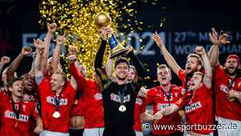 Ohne Einsatz im Finale: Recke Johan Hansen feiert Weltmeistertitel mit Dänemark - Sportbuzzer