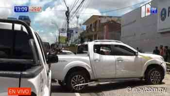 Detienen a supuesto ladrón tras persecución sobre Eusebio Ayala   Noticias Paraguay - NPY