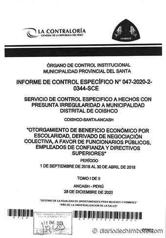 EX FUNCIONARIOS DE MUNICIPIO DE COISHCO REALIZARON COBROS ILEGALES - Diario de Chimbote