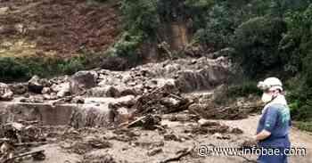 Invierno en Cundinamarca deja 30.000 afectados. Cachipay y Zipaquirá en alerta roja por deslizamientos - infobae América