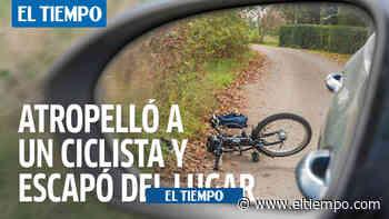 El secretario de Gobierno de Cachipay atropelló a un ciclista y escapó - ElTiempo.com